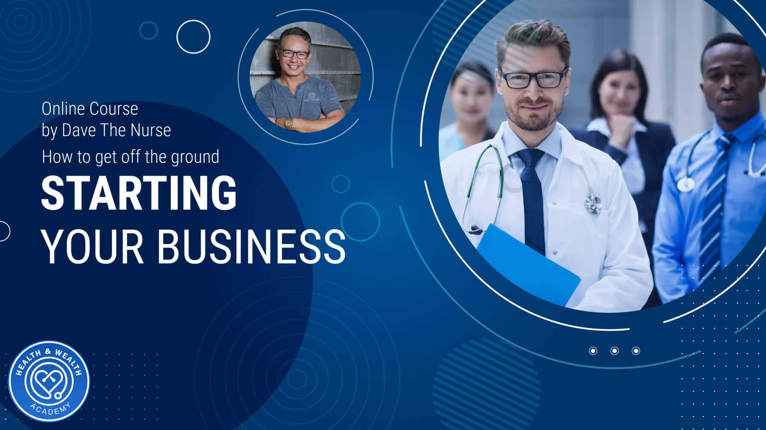 Become a Home Nurse Entrepreneur with the New Health & Wealth Academy Online Learning System