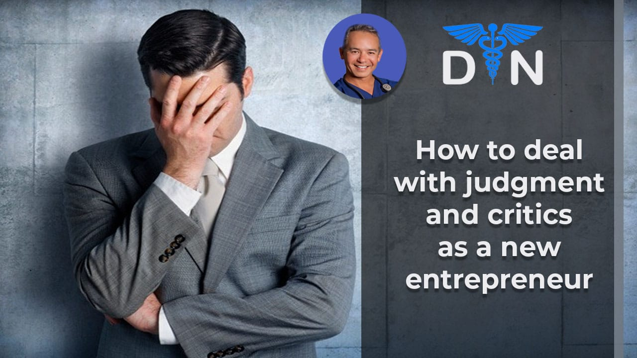 That AHAW Moment of Dealing with Judgement and Critics as a New Entrepreneur