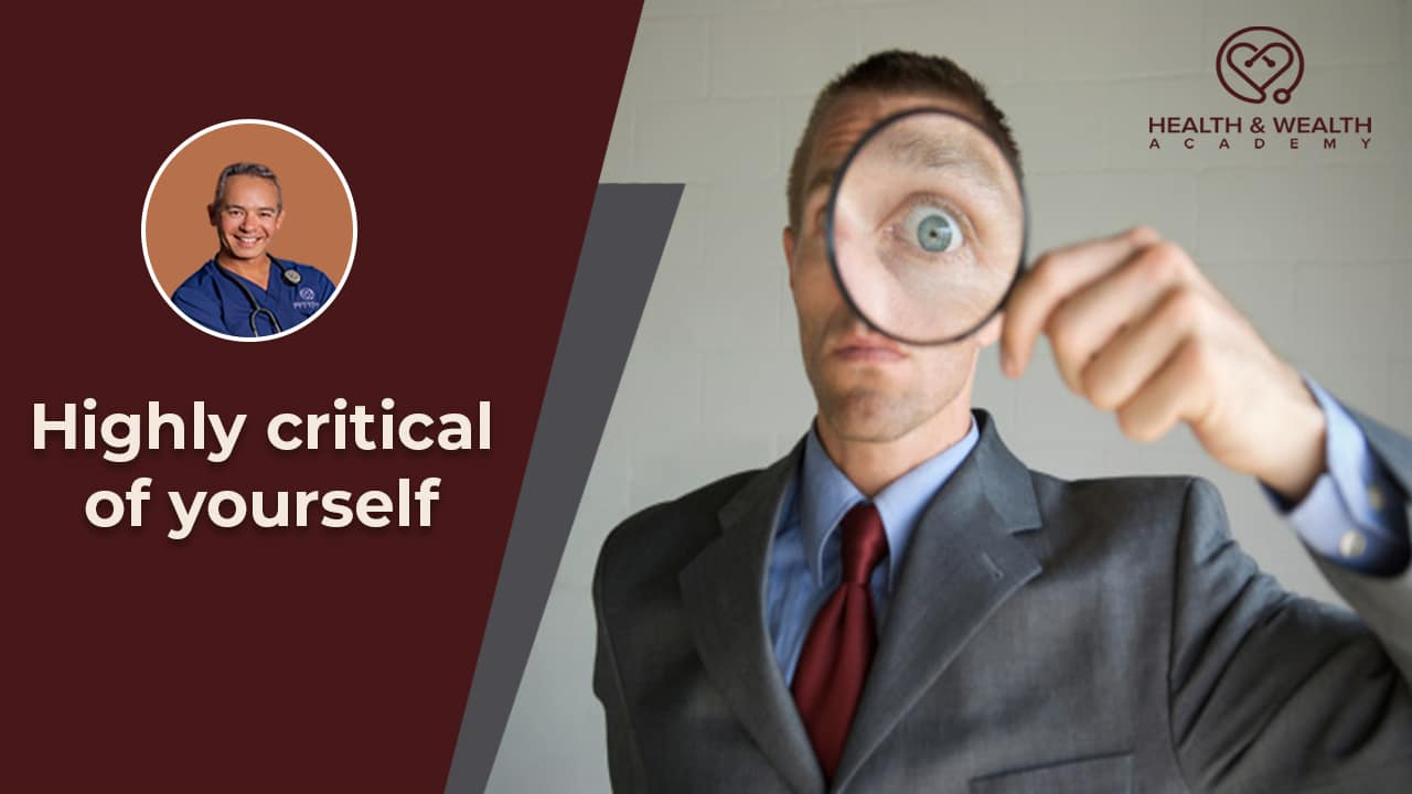 Learning Not to Be So Uncomfortable and Critical of Oneself