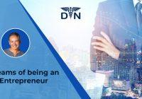 Dreams of being an entrepreneur