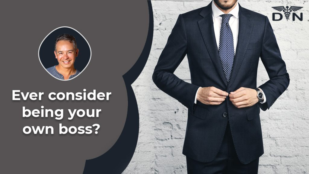 Ever Considered Being Your Own Boss?