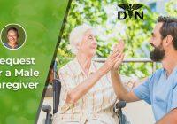 Q&A Request for a Male Caregiver