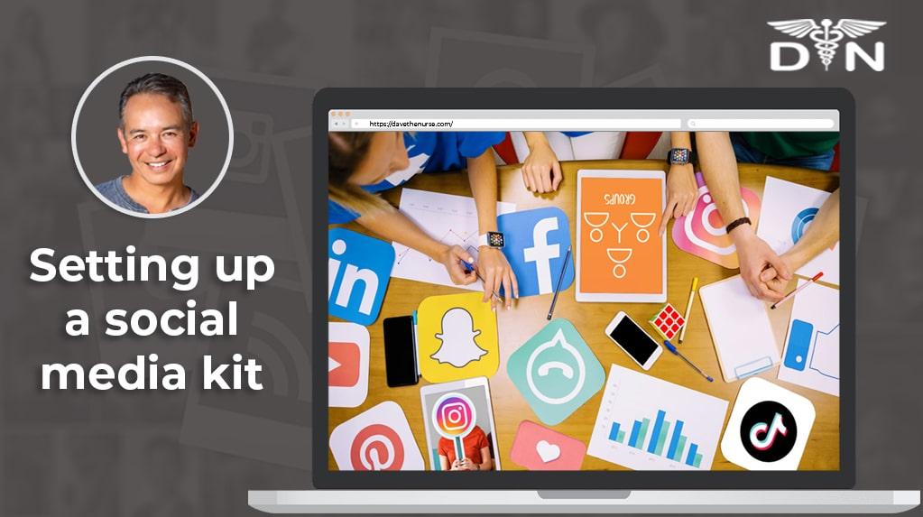 Tips on Setting Up A Social Media Kit
