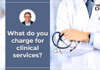 what do you charge for clinical services