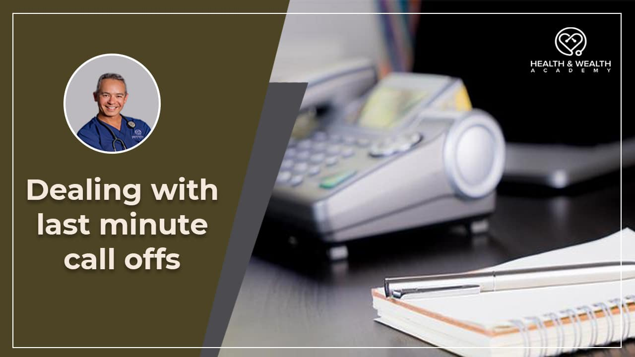 How Do You Deal with Last Minute Call-Offs? Q&A Friday