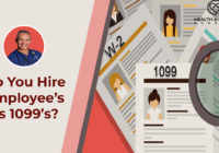 do you hire employees as 1099