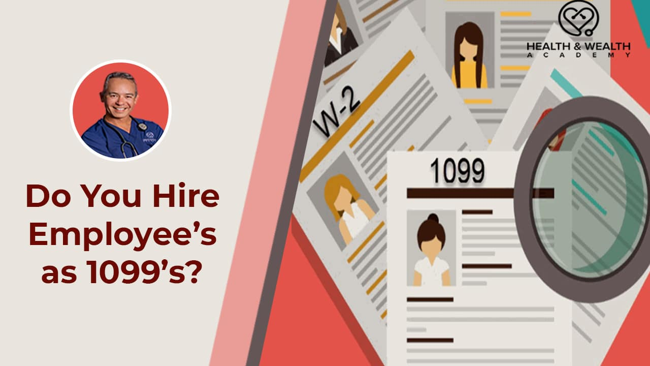 Q&A Friday - Do you Hire Employees as 1099s?