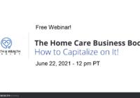 HAWAcademy Webinar Home Health Boom 2021